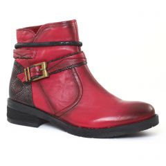 Chaussures femme hiver 2016 - boots fugitive rouge python