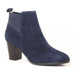 Chaussures femme hiver 2016 - boots talon JB Martin bleu nuit