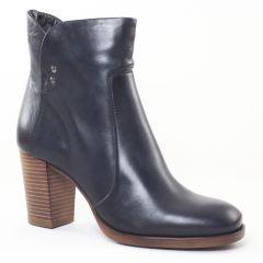 boots-talon bleu: même style de chaussures en ligne pour femmes que les Tamaris
