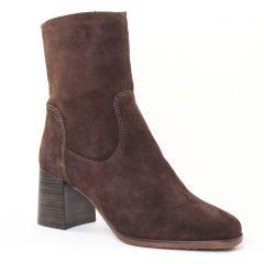 boots-talon marron: même style de chaussures en ligne pour femmes que les Spm