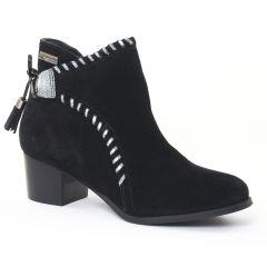 Chaussures femme hiver 2016 - boots talon les tropéziennes noir