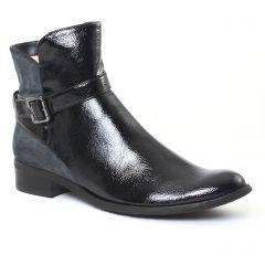 Chaussures femme hiver 2016 - boots fugitive vernis noir