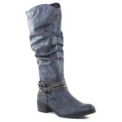 Chaussures femme hiver 2016 - bottes marco tozzi bleu
