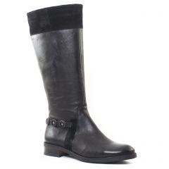 bottes-cavalieres noir: même style de chaussures en ligne pour femmes que les Fugitive