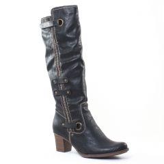 Chaussures femme hiver 2016 - bottes rieker noir