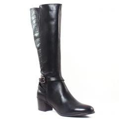 bottes noir: même style de chaussures en ligne pour femmes que les Gioseppo