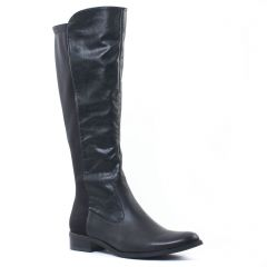 Chaussures femme hiver 2016 - bottes stretch fugitive noir