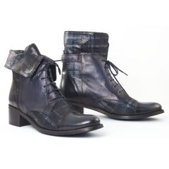 Chaussures femme hiver 2016 - bottines à lacets CostaCosta bleu