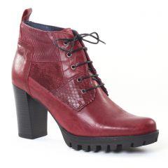 Chaussures femme hiver 2016 - bottines à lacets Dorking bordeaux