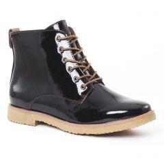 bottines-a-lacets bordeaux: même style de chaussures en ligne pour femmes que les Scarlatine