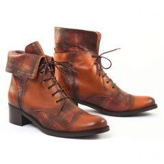 Chaussures femme hiver 2016 - bottines à lacets CostaCosta marron