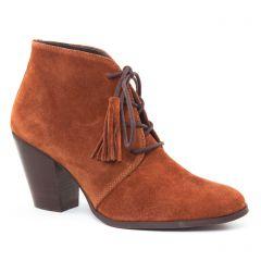 Chaussures femme hiver 2016 - bottines à lacets Impact marron