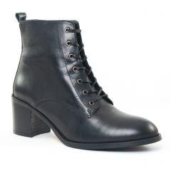 Chaussures femme hiver 2016 - bottines à lacets Impact noir