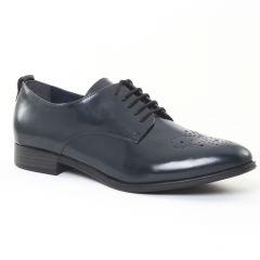 derbys bleu: même style de chaussures en ligne pour femmes que les Tamaris