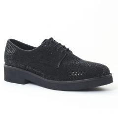 derbys noir: même style de chaussures en ligne pour femmes que les Bprivate