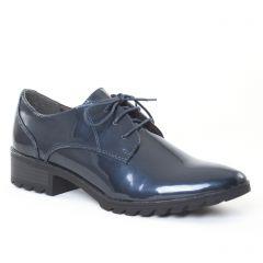 derbys-talon bleu marine: même style de chaussures en ligne pour femmes que les Scarlatine