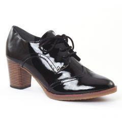 Chaussures femme hiver 2016 - derbys talon marco tozzi bordeaux
