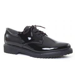 Chaussures femme hiver 2016 - derbys marco tozzi vernis noir