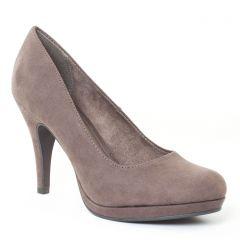 escarpins beige gris: même style de chaussures en ligne pour femmes que les Tamaris