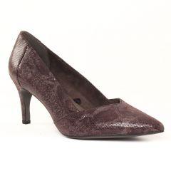 escarpins bordeaux: même style de chaussures en ligne pour femmes que les Tamaris