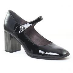 escarpins-brides vernis noir: même style de chaussures en ligne pour femmes que les Marco Tozzi