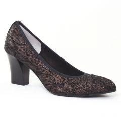 escarpins marron doré: même style de chaussures en ligne pour femmes que les Marco Tozzi