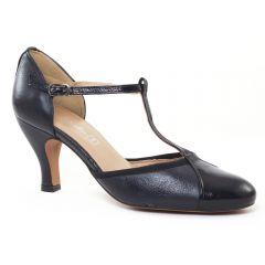escarpins-salome bleu marine: même style de chaussures en ligne pour femmes que les Tamaris
