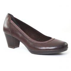 escarpins-trotteur marron: même style de chaussures en ligne pour femmes que les Tamaris
