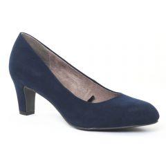 escarpins velours bleu: même style de chaussures en ligne pour femmes que les Dorking