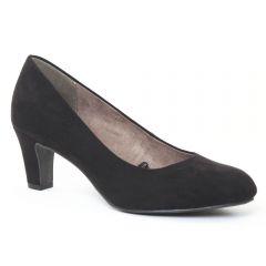 escarpins velours noir: même style de chaussures en ligne pour femmes que les Tamaris