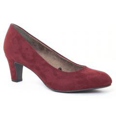 escarpins velours rouge: même style de chaussures en ligne pour femmes que les Maria Jaén