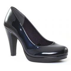 escarpins vernis bleu: même style de chaussures en ligne pour femmes que les Marco Tozzi