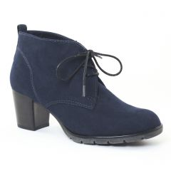 bottines-a-lacets bleu: même style de chaussures en ligne pour femmes que les Marco Tozzi