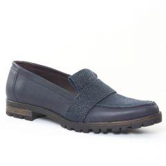 Chaussures femme hiver 2016 - mocassins Axell bleu marine