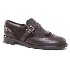 mocassins marron: même style de chaussures en ligne pour femmes que les Scarlatine