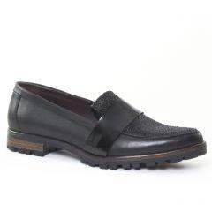 Chaussures femme hiver 2016 - mocassins Axell noir