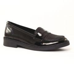 mocassins noir vernis: même style de chaussures en ligne pour femmes que les Les Tropéziennes