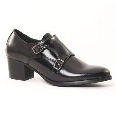 Chaussures femme hiver 2016 - mocassins talon haut Scarlatine noir