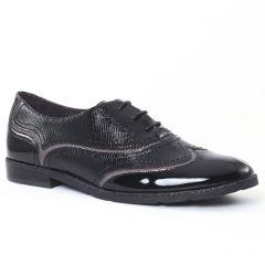 richelieus noir vernis: même style de chaussures en ligne pour femmes que les Mamzelle
