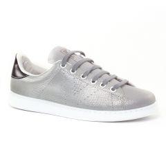 Chaussures femme hiver 2016 - tennis Victoria argent