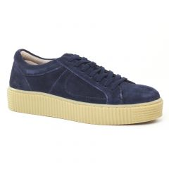 tennis bleu: même style de chaussures en ligne pour femmes que les Cafe Moda