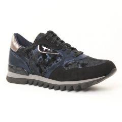 tennis bleu noir: même style de chaussures en ligne pour femmes que les Mtng
