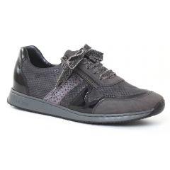 Chaussures femme hiver 2016 - tennis rieker gris