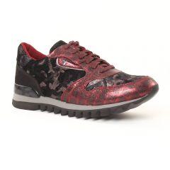 tennis noir bordeaux: même style de chaussures en ligne pour femmes que les Cafe Moda