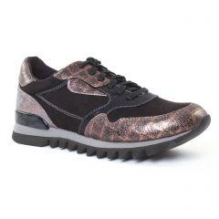 tennis noir mauve: même style de chaussures en ligne pour femmes que les Scarlatine