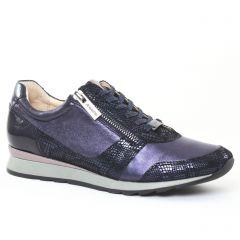 Chaussures femme hiver 2016 - tennis JB Martin violet argent