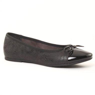 Ballerines Tamaris 22108 Black, vue principale de la chaussure femme