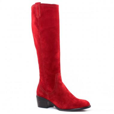 Bottes Tamaris 25537 Scarlet, vue principale de la chaussure femme