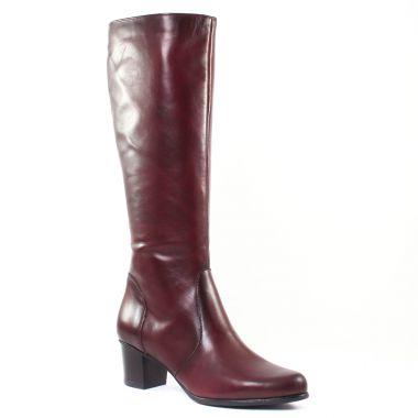 Bottes Tamaris 25549 Bordeaux, vue principale de la chaussure femme