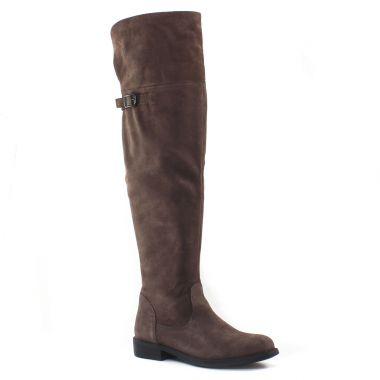Bottes Tamaris 25811 Graphite, vue principale de la chaussure femme